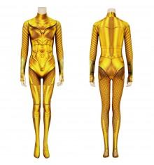 Wonder Woman 1984 Diana Prince Golden 3D Cosplay Jumpsuit