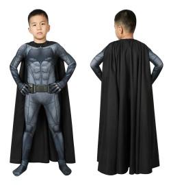 Justice League Batman Bruce Wayne Kids 3D Jumpsuit