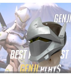 Overwatch Genji Helmet Cosplay Mask