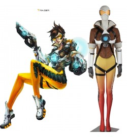 Overwatch Tracer Cosplay Costume