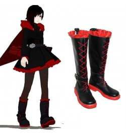 RWBY Red Trailer Ruby Cosplay Boots