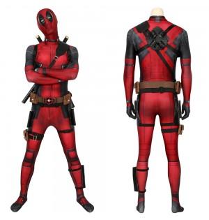Deadpool Wade Wilson 3D Jumpsuit Full Set