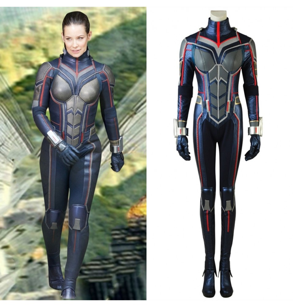2018 Ant-Man and the Wasp Hope Van Dyne Costume Wasp Cosplay Costume