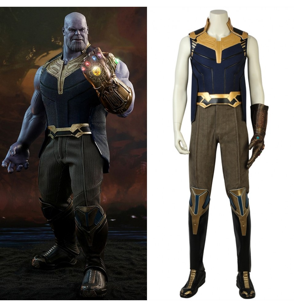 2018 Avengers Infinity War Thanos Cosplay Costumes