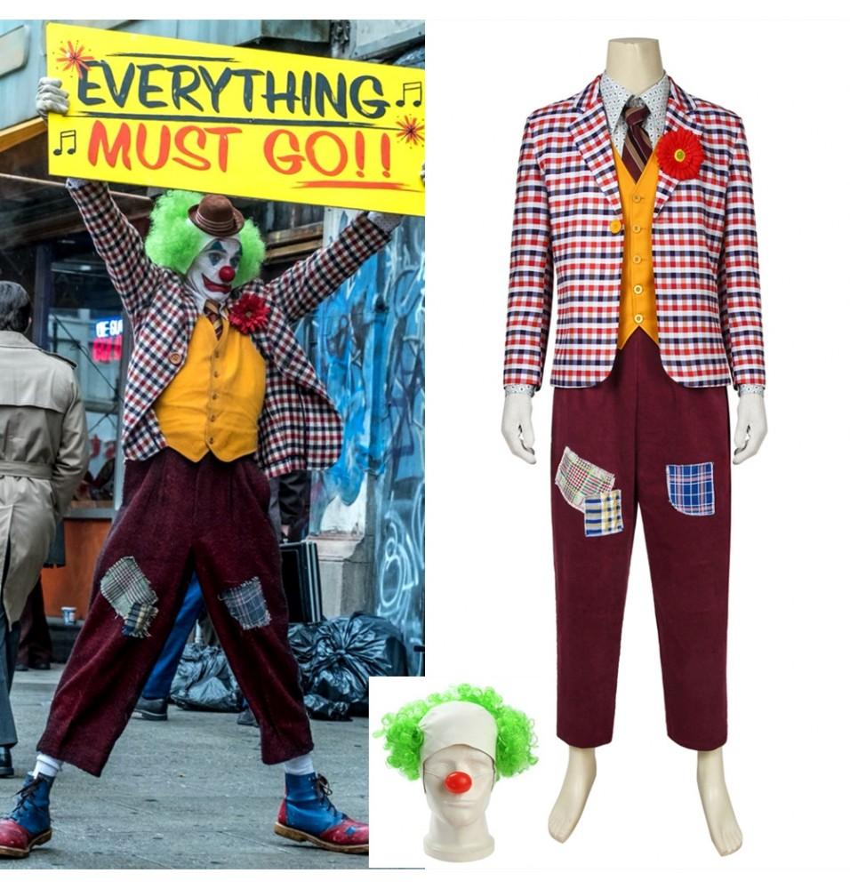 2019 Movie Joker Arthur Fleck Cosplay Costume