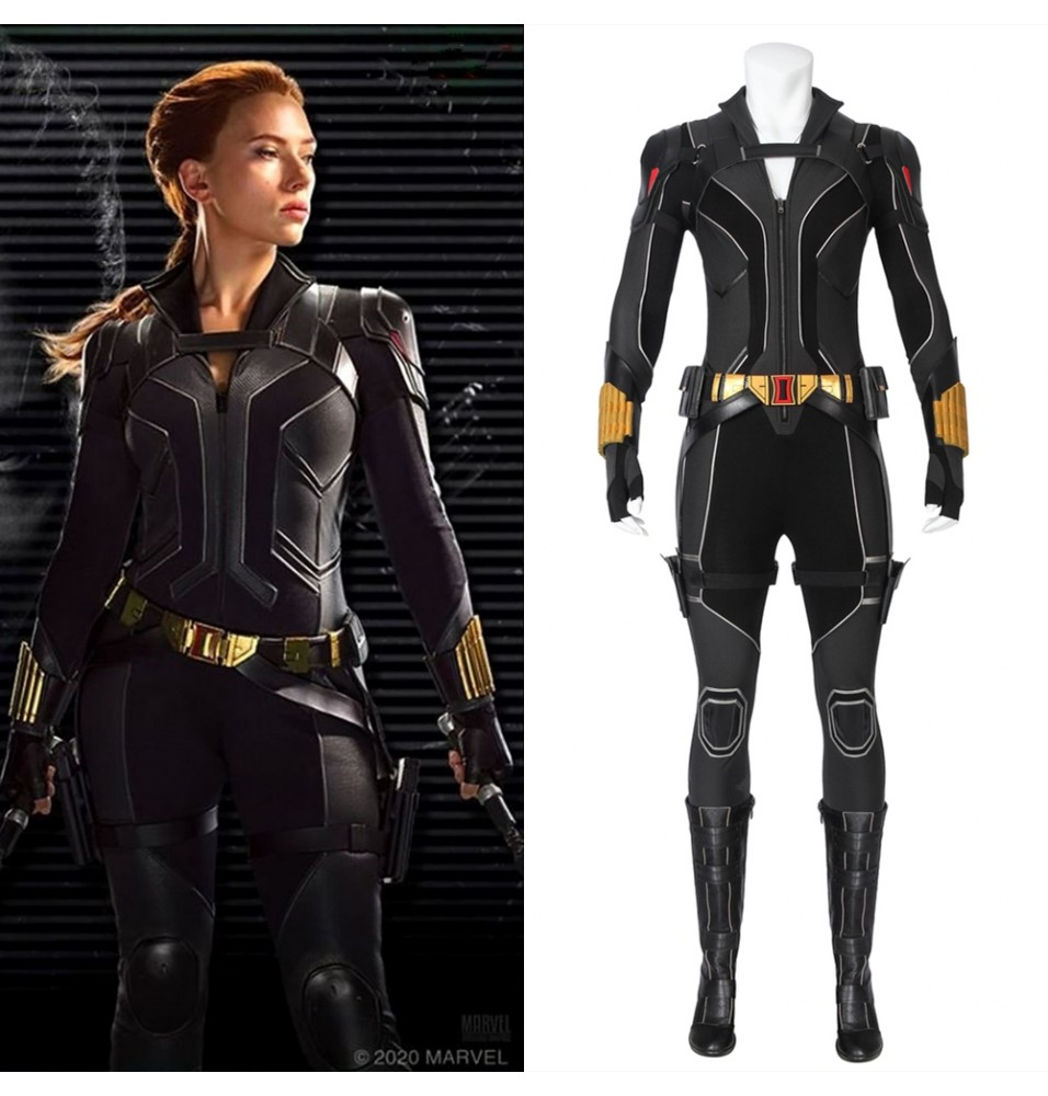 2020 Black Widow Cosplay Costume Natasha Romanoff Outfit