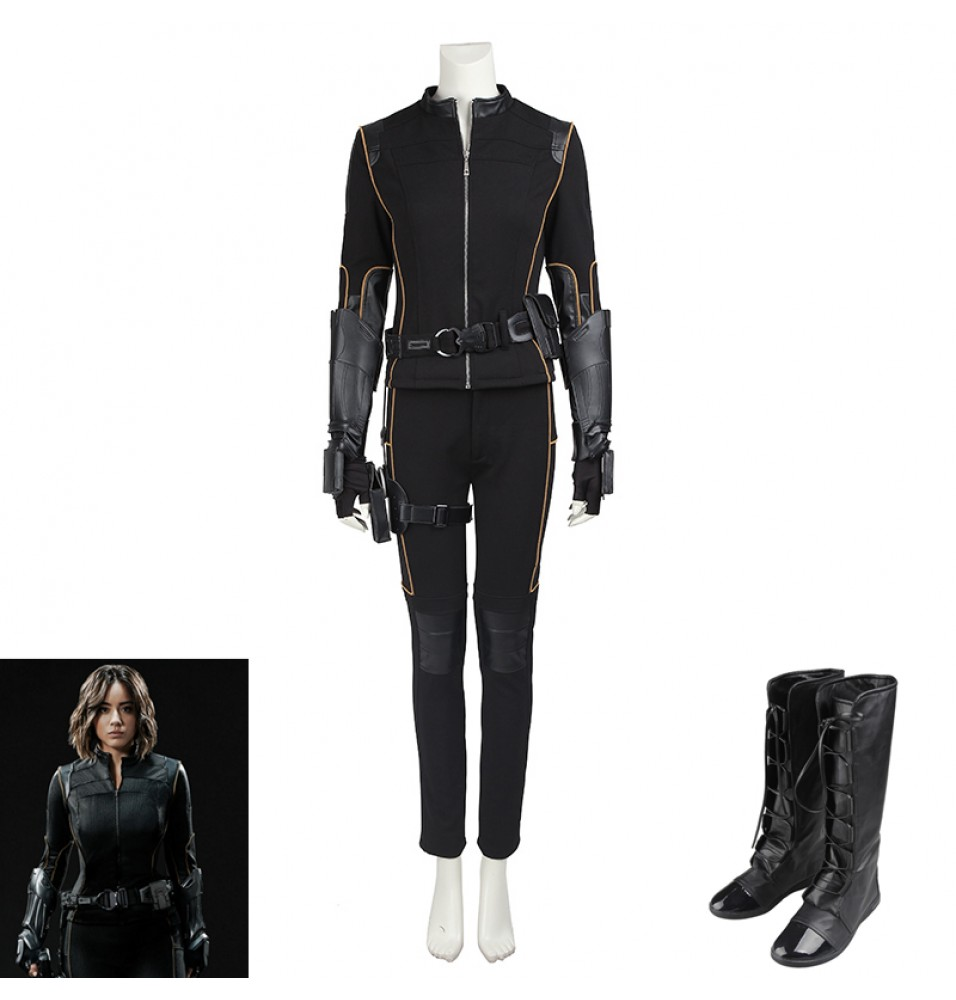 Agents of SHIELD Skye Quake Cosplay Costume