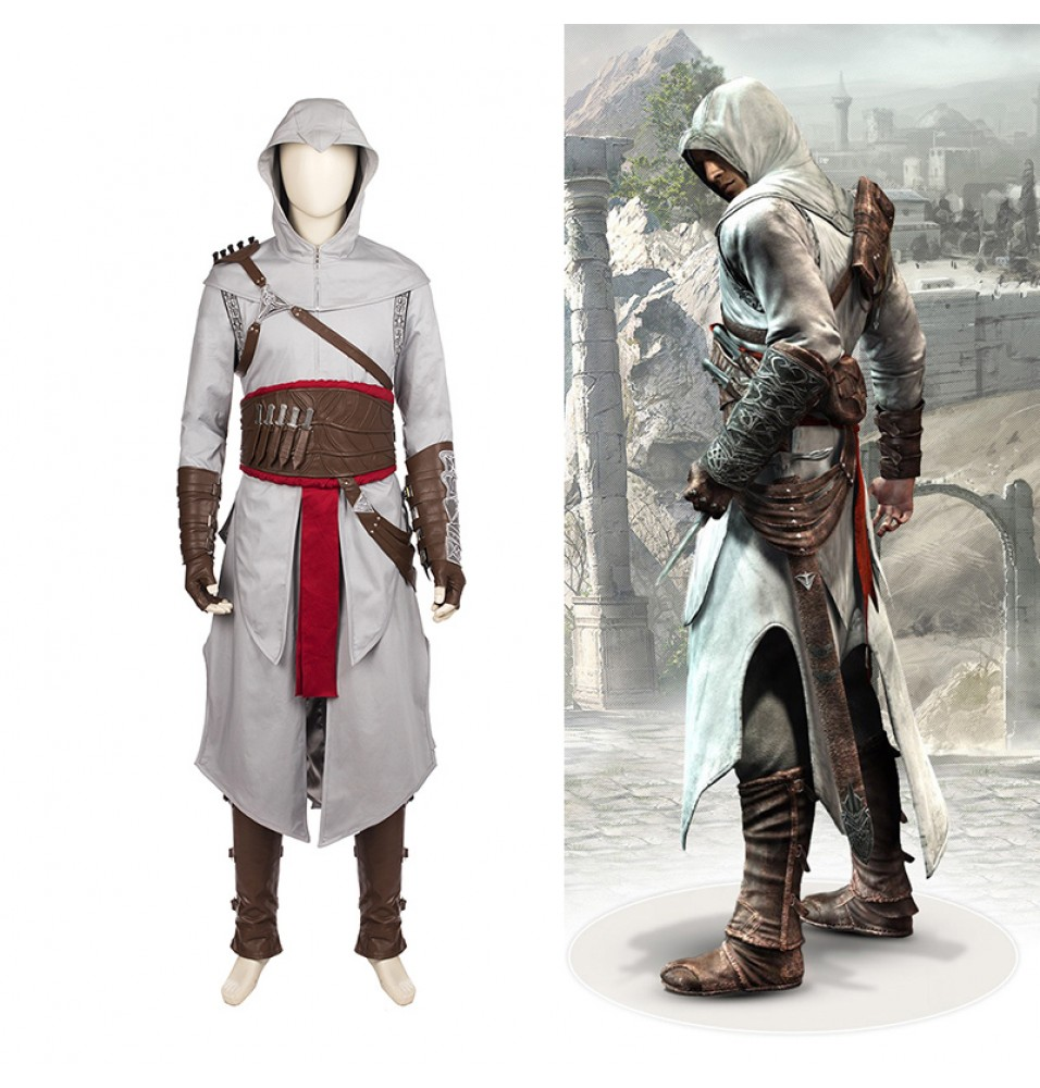 Assassin's Creed Revelations Altair Cosplay Costume Deluxe