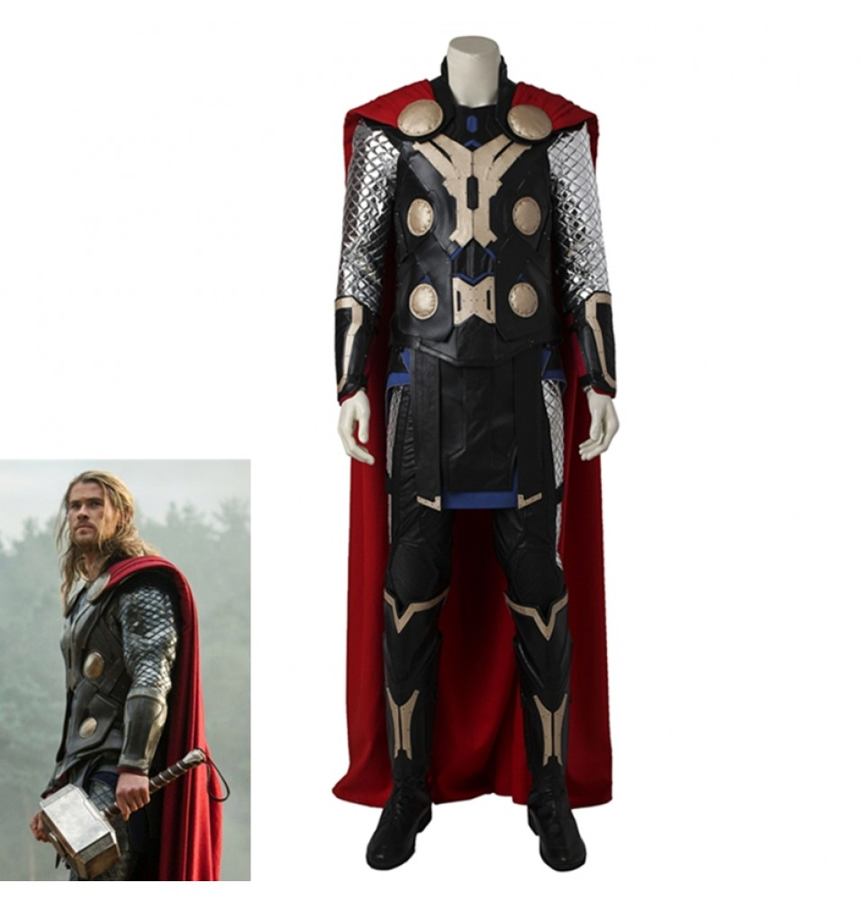 Avengers Age of Ultron Thor Cosplay Costume Full Set