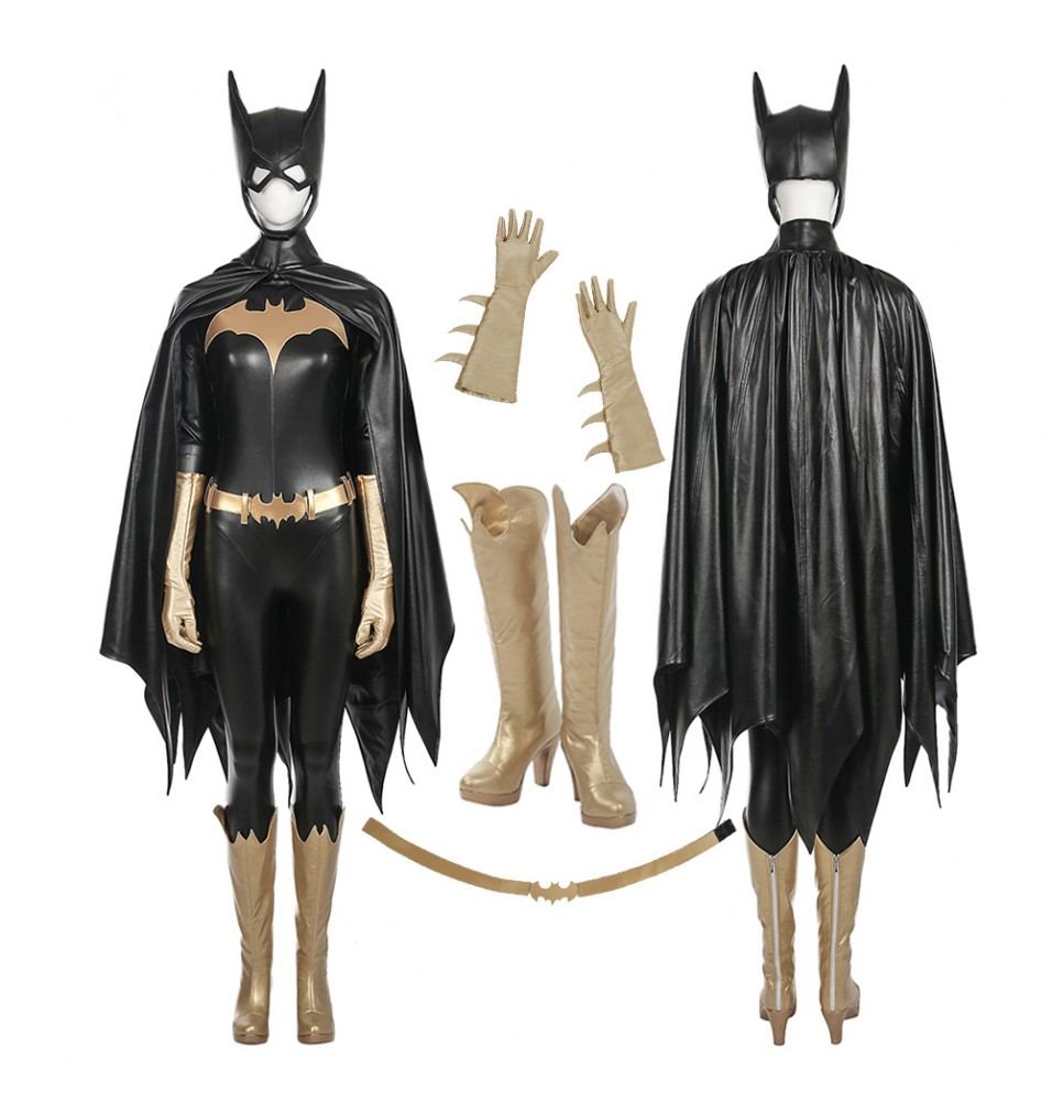 Arkham Knight Batgirl Jumpsuit Full Set Cosplay Costume