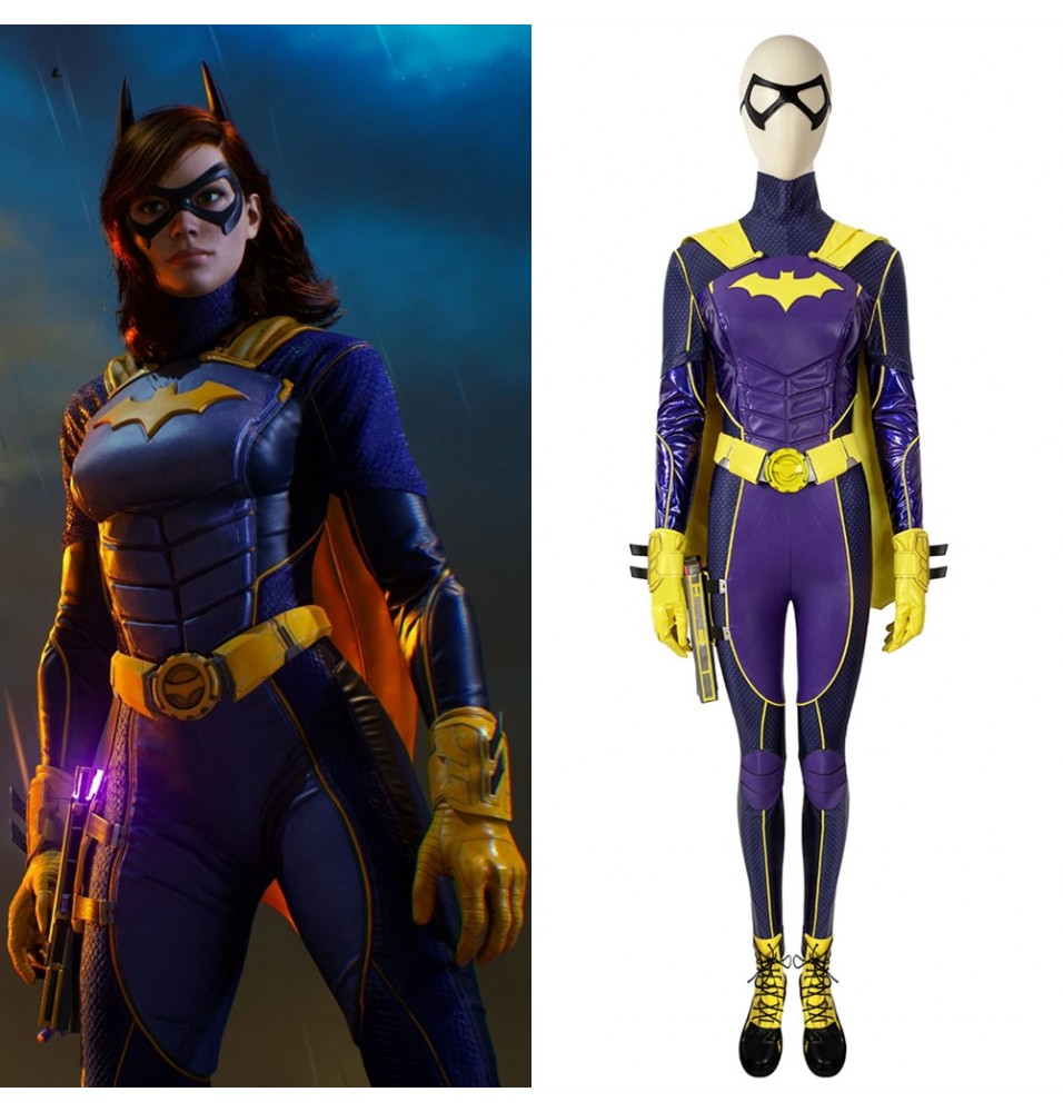 Batman Gotham Knights Batgirl Cosplay Costume