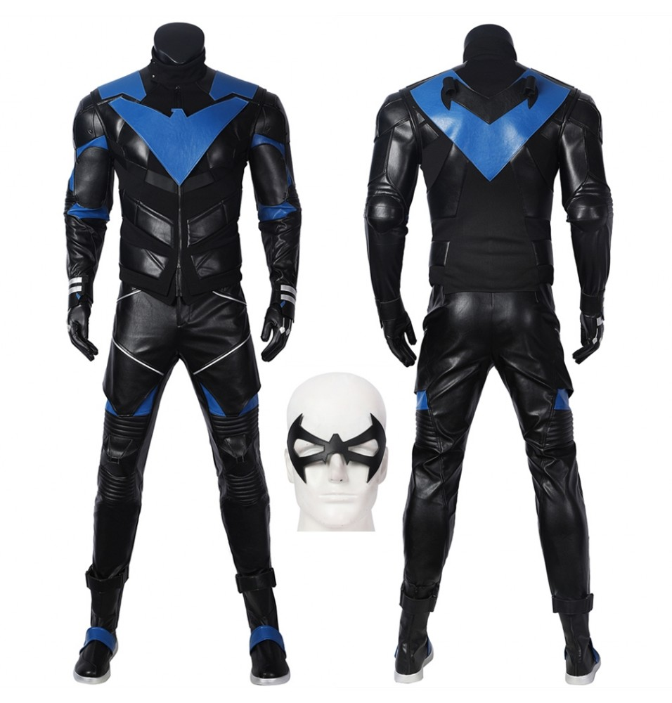 Batman: Gotham Knights Nightwing Cosplay Costume