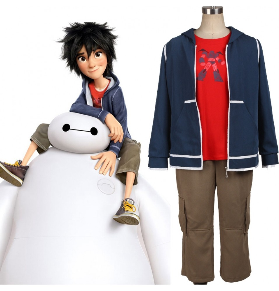 Big Hero 6 Hiro Hamada Cosplay Costume Full Set