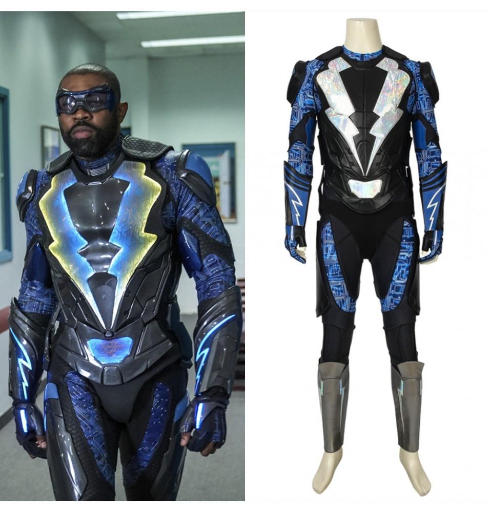 Black Lightning Jefferson Pierce Cosplay Costume
