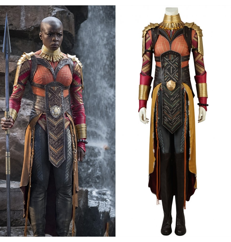 Black Panther Okoye Costume Avengers Infinity War Okoye Cosplay Costume