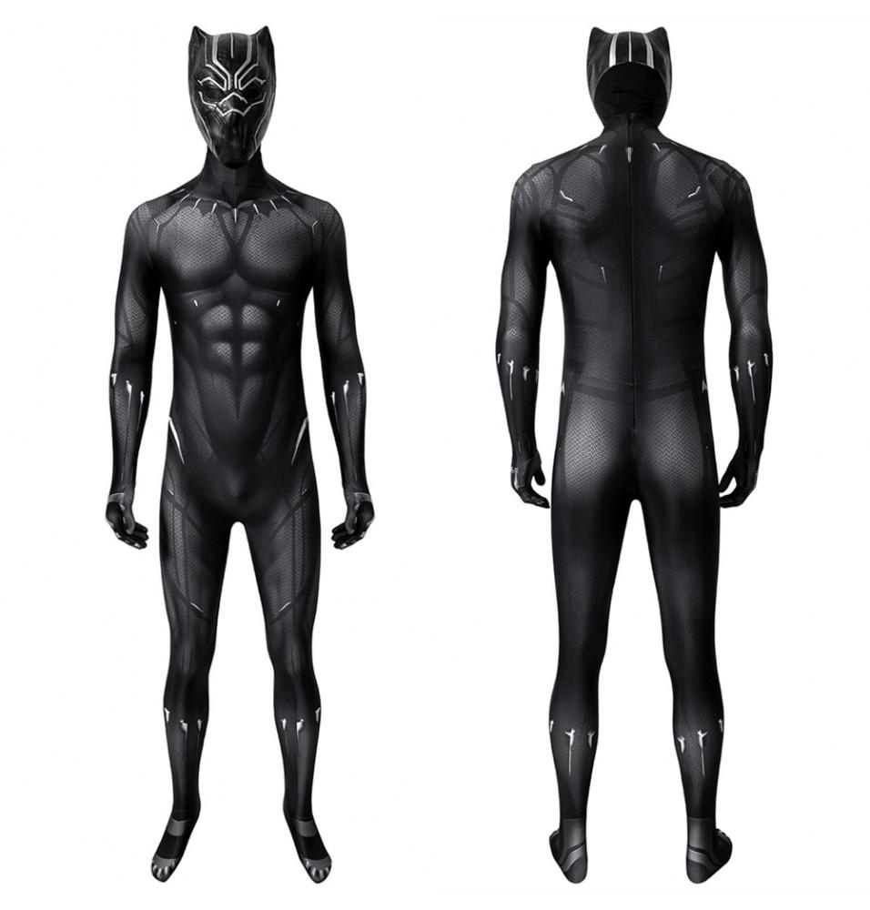 Black Panther T'Challa 3D Jumpsuit