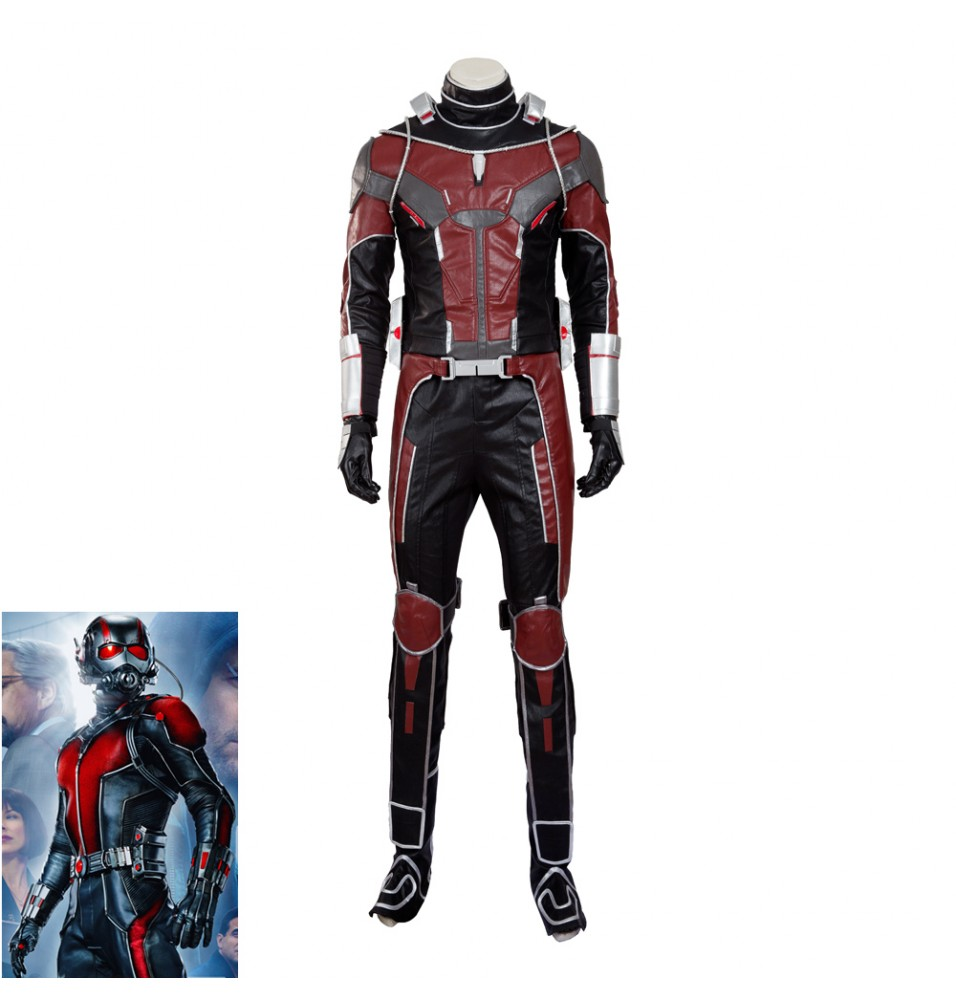 Civil War Scott Lang Ant-Man Cosplay Costume