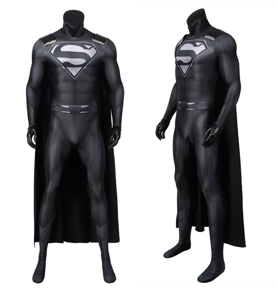 Crisis on Infinite Earths Superman Clark Kent 3D Cosplay Jumpsuit