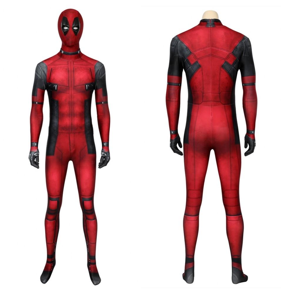 Deadpool Wade Wilson 3D Zentai Jumpsuit