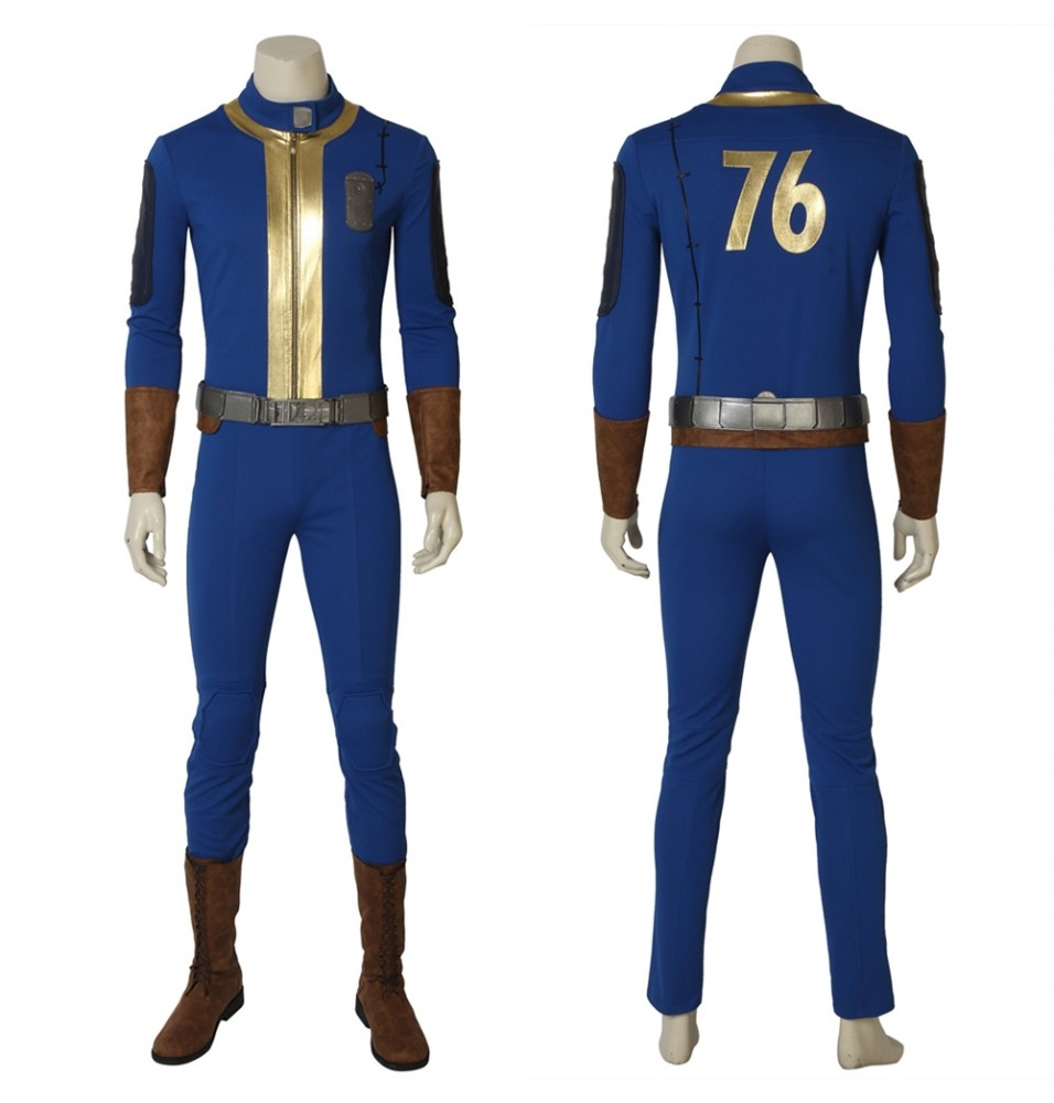 Fallout 76 Sole Survivor Deacon Cosplay Costume