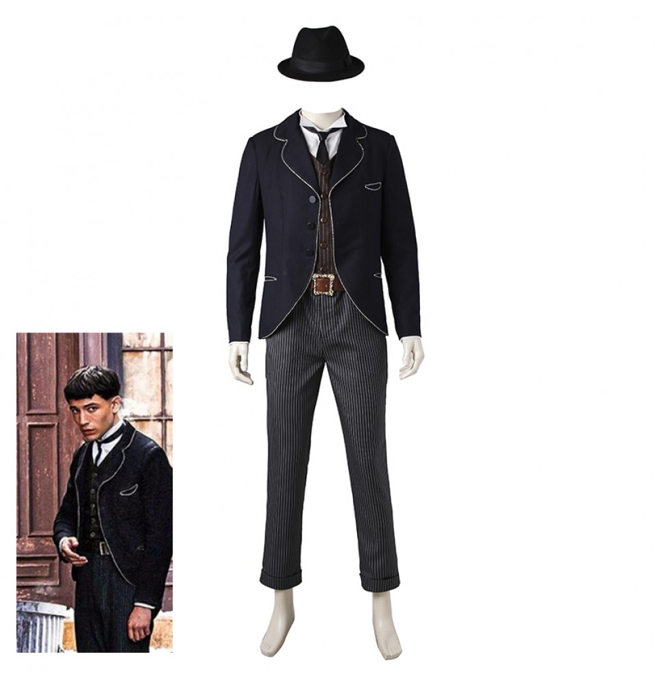 Fantastic Beasts and Where to Find Them Credence Barebone Cosplay Costumes