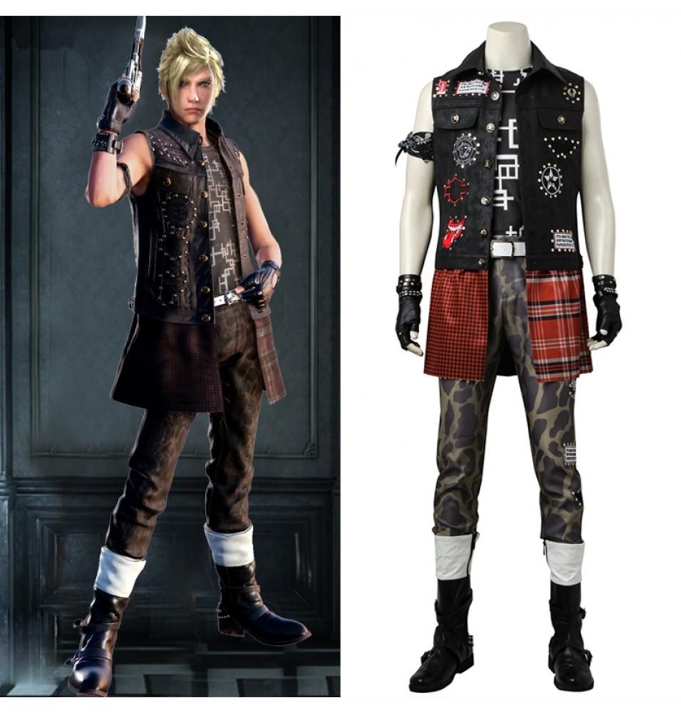 Final Fantasy XV Prompto Argentum Cosplay Costume Deluxe Costume