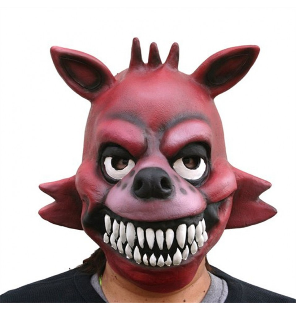 Five Nights at Freddy's Fox Foxy Latex Mask
