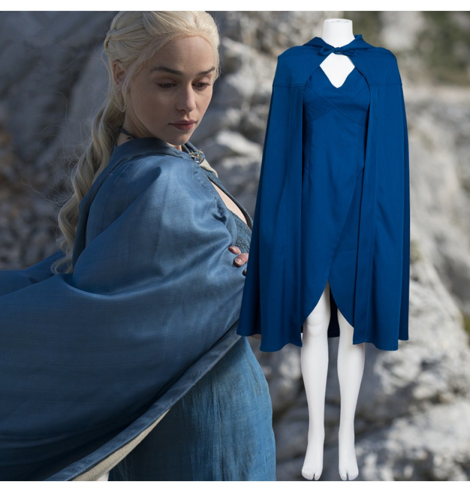Game of Thrones Mother of Dragons Daenerys Targaryen Cosplay Costumes