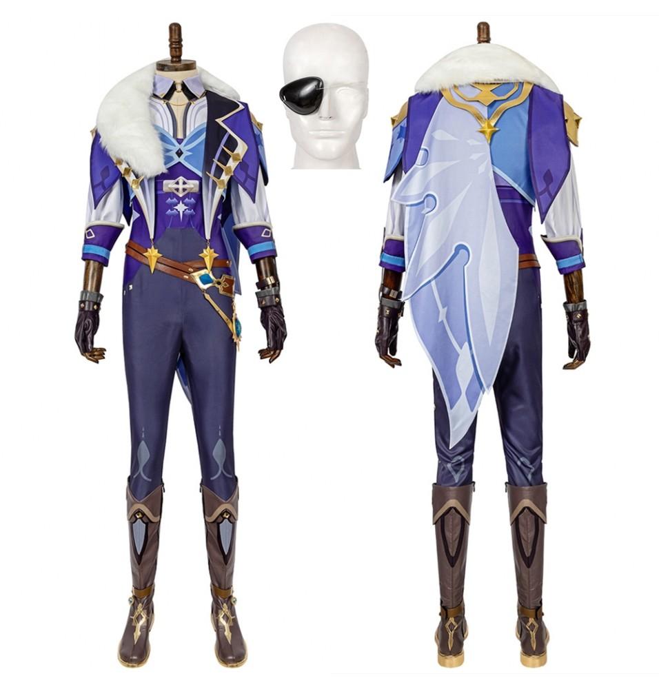 Genshin Impact Kaeya Cosplay Costume