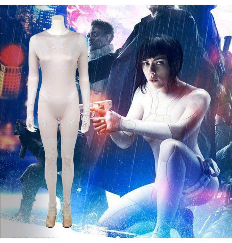 Ghost In The Shell Kusanagi Motoko Jumpsuit Cosplay Costume