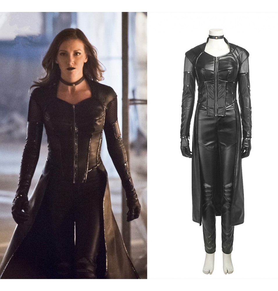Green Arrow 5 Dinah Laurel Lance Black Canary Cosplay Costume