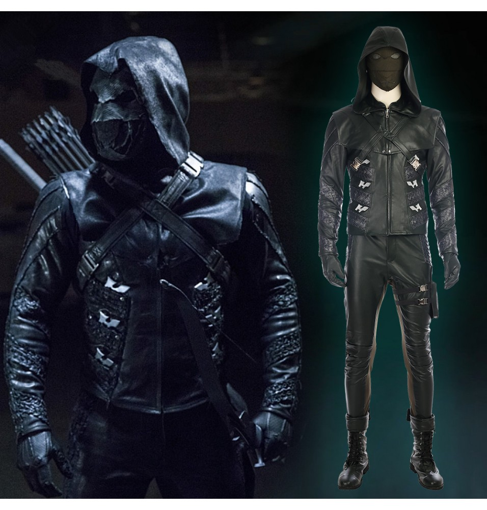 Arrow Season 5 Prometheus Costume Quentin Lance Cosplay Costume