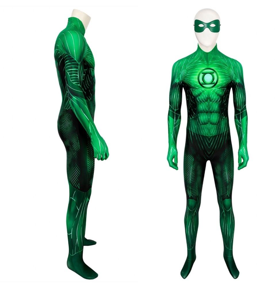 Green Lantern Hal Jordan 3D Jumpsuit