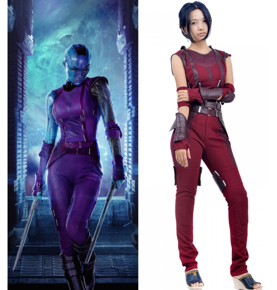 Guardians Of The Galaxy Nebula Cosplay Costume