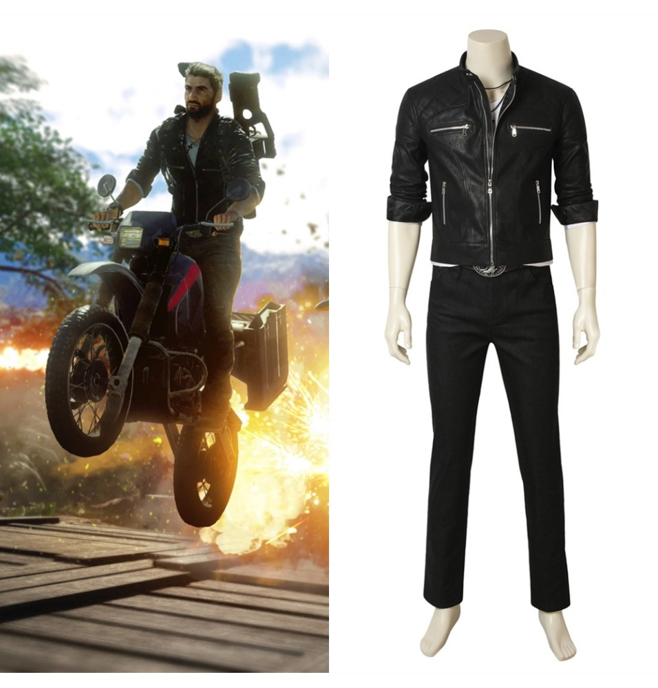 Just Cause 4 Rico Rodriguez Cosplay Costume