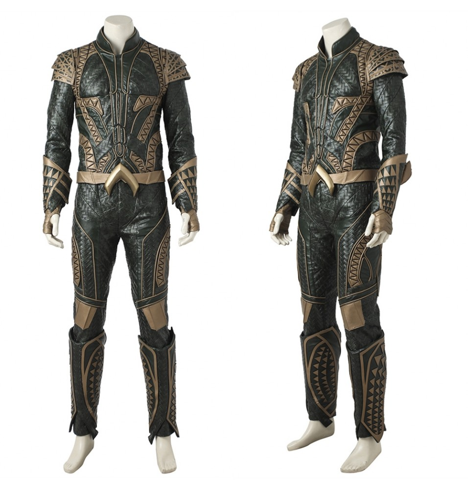 Justice League Aquaman Cosplay Costume Deluxe