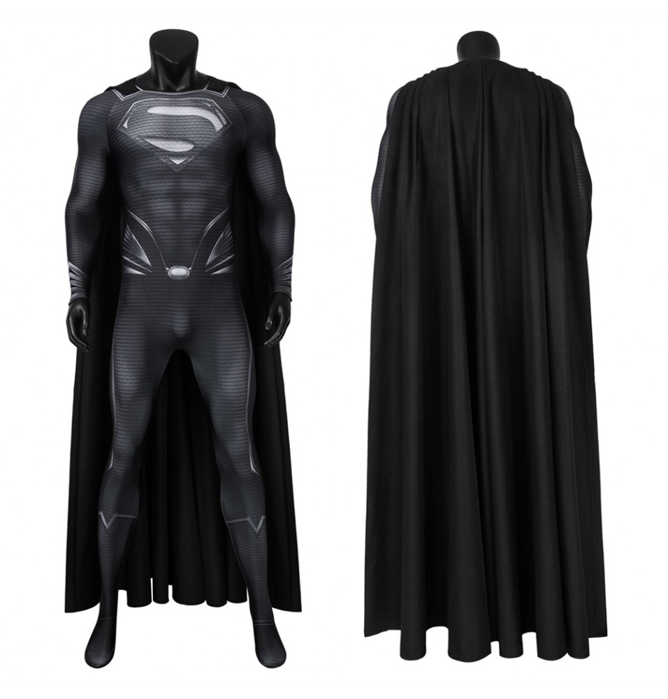 Justice League Superman Clark Kent 3D Jumpsuit