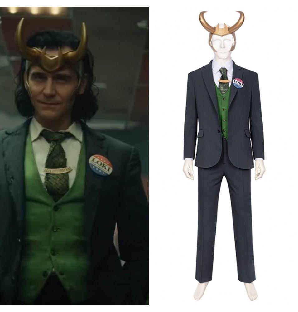 Loki Season 1 Loki Cosplay Costume