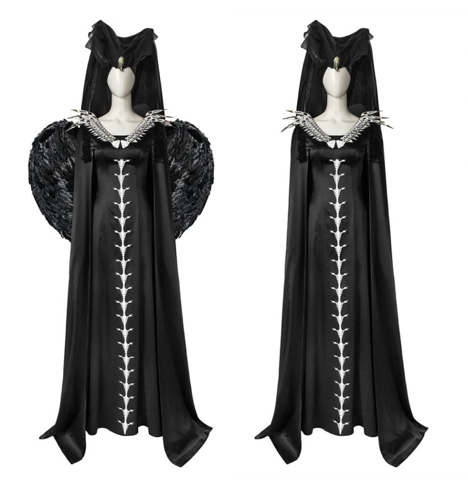 Maleficent: Mistress of Evil Maleficent Cosplay Costume Dress