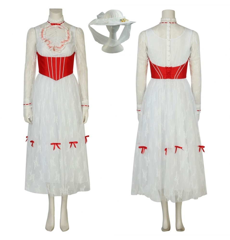 Mary Poppins Returns Mary Poppins Cosplay Dress