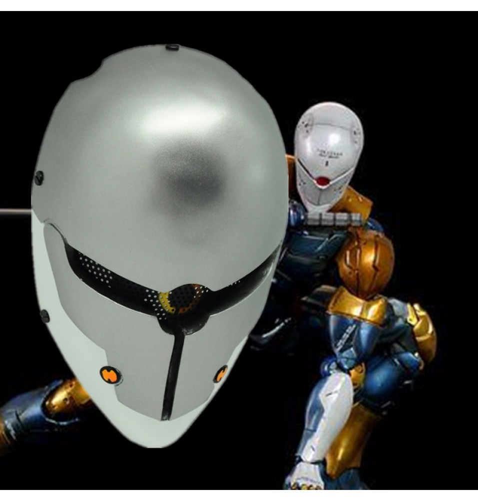 Metal Gear Solid Gray Fox Cosplay Mask