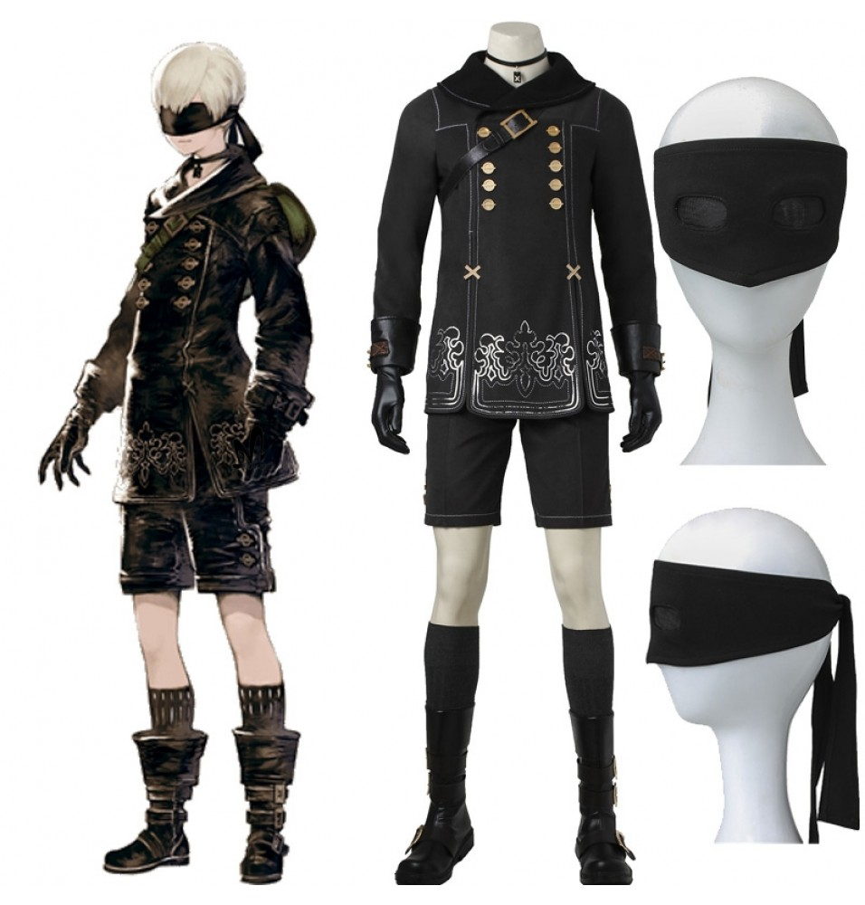 NieR: Automata 9S Costume YoRHa No.9 S Cosplay Costume - Deluxe Version