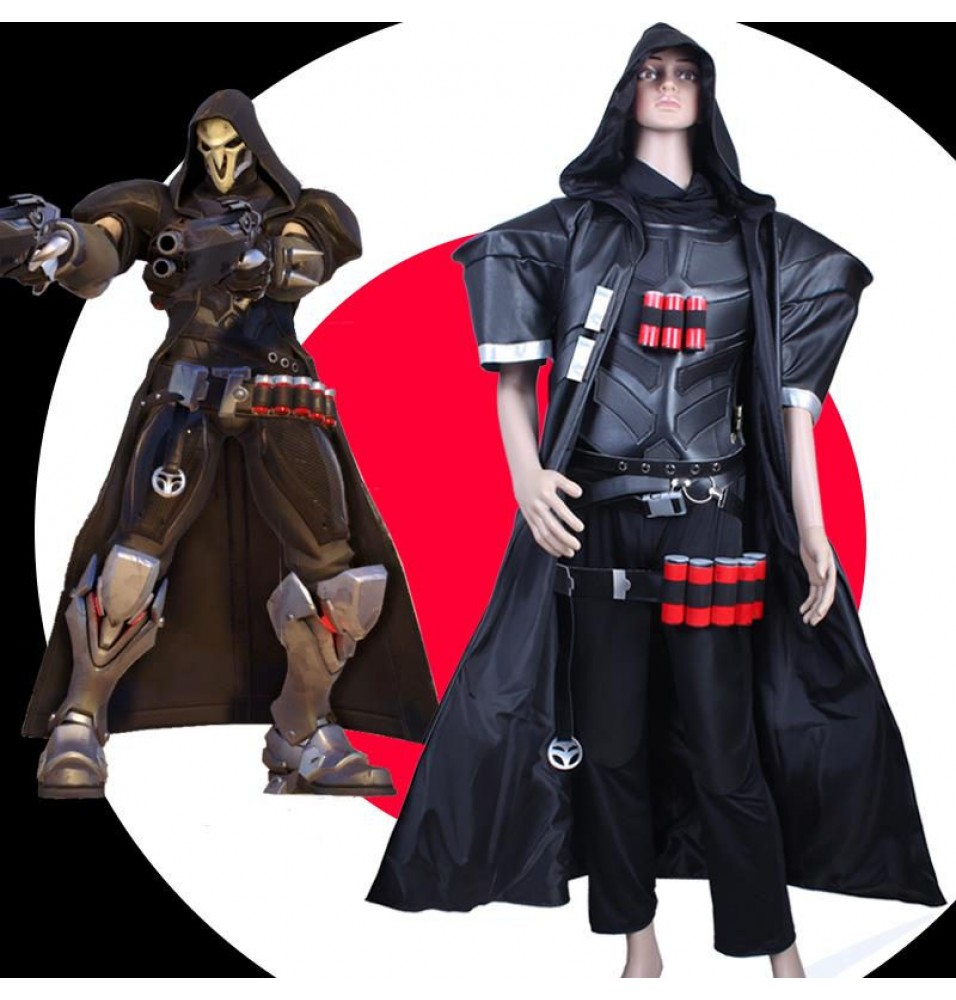 Overwatch Reaper Cosplay Costumes
