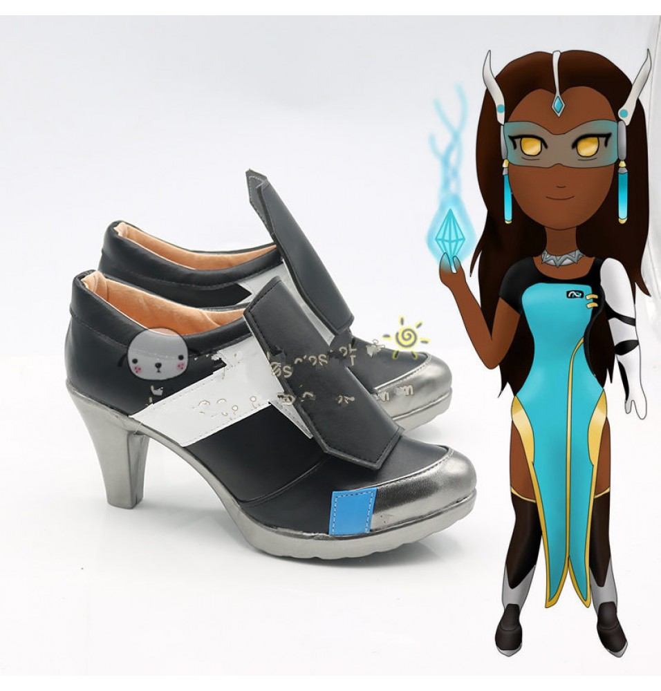 Overwatch Symmetra Cosplay Shoes