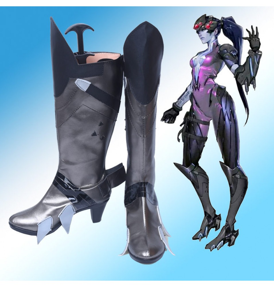 Overwatch Widowmaker Boots Cosplay Shoes