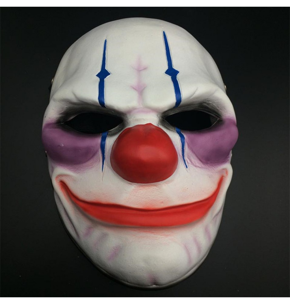 PAYDAY 2 Joker Chains Cosplay Mask