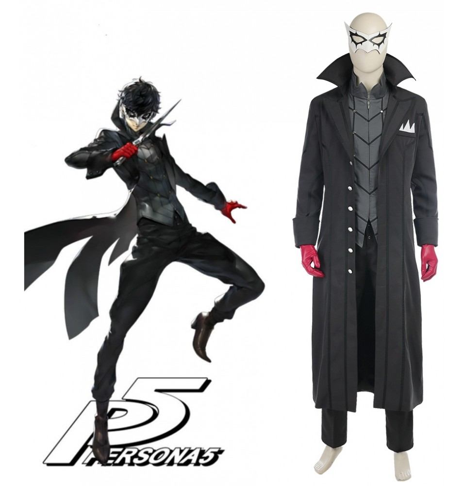 Persona 5 Kaito Cosplay Costume Deluxe Version
