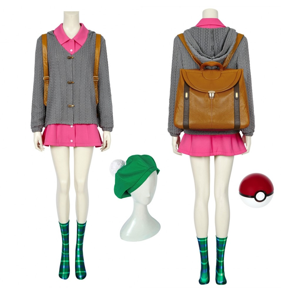 Pokemon Sword and Shield Gloria Cosplay Costume