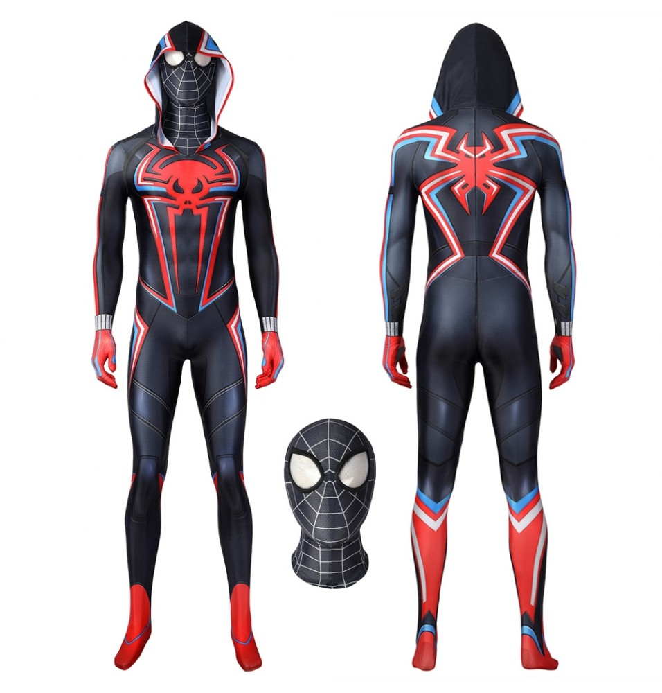 PS5 Spider-Man Miles Morales 2099 Suit Cosplay Jumpsuit