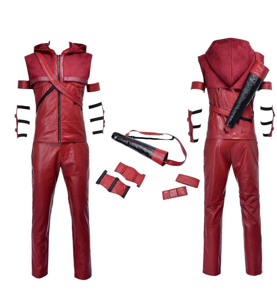 Red Arrow Speedy Arsenal Roy Harper Cosplay Costume
